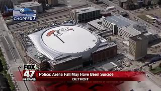Police: Little Caesars Arena fall may be suicide - Video