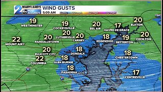 Chilly and Breezy today, milder tomorrow