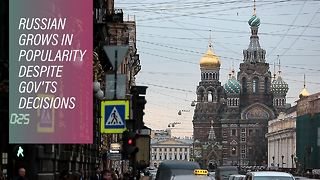 Why former USSR countries are speaking more Russian - Video