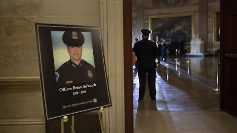 Federal Investigators Target Suspect In Riot Death Of Capitol Officer