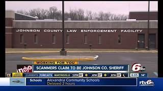 Scammers claiming to be Johnson County Sheriff's Office - Video