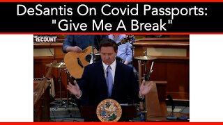 Desantis Executive Action Against Vaccine Passports