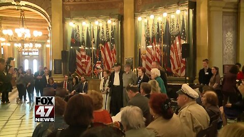 Gov. Whitmer stresses the importance of remembering the Holocaust