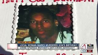 Mothers in Charge founder marks son's birthday - Video