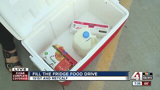 Fill the Fridge continues today