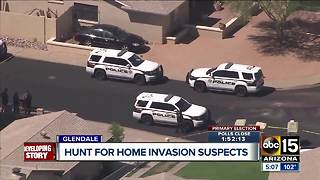Glendale police searching for home invasion suspects