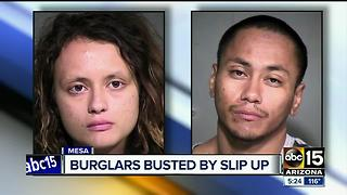 Mesa PD: Victim, witness and a dropped citation help police nab burglars - Video