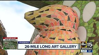 Art at light rail stations turning heads - Video