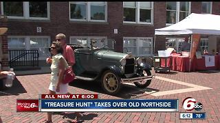 Treasure hunt takes over old northside - Video