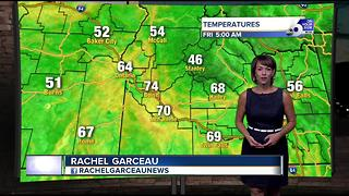 Heat reaches advisory levels Friday and Saturday - Video