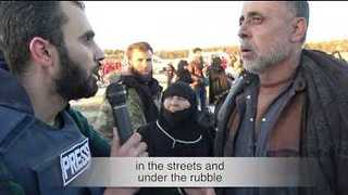 Prominent Activist Interviews Displaced Aleppo Civilians Following Initial Evacuation Convoys - Video