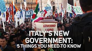 More change in the EU! Meet Italy's new government - Video