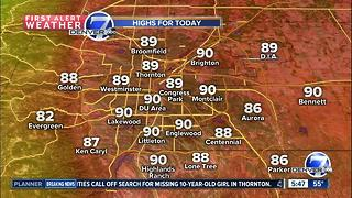 A mild week across Colorado - Video