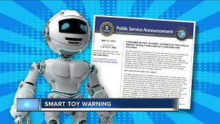 FBI warns parents of privacy risks with internet-connected toys - Video