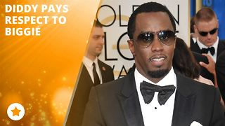 Diddy wants you to help honor the Notorious B.I.G. - Video