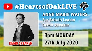 Livestream with Anne Marie Waters 27.7.20