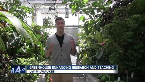 UWM Greenhouse enhancing research and teaching