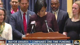 Seven companies in Baltimore awarded more than $550,000 - Video