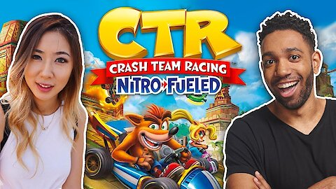 runJDrun VS fuslie @ Hollister x Crash Team Racing: Nitro-Fueled Summer Launch Party