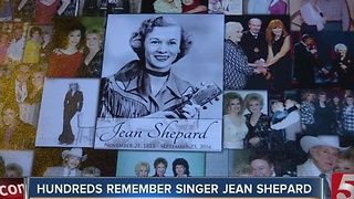 Tribute Held For Country Legend Jean Shepard - Video