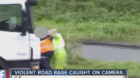 Violent road rage incident