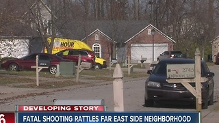 Fatal shooting rattles far east side Indy neighborhood - Video