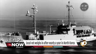 Local veteran weighs in after nearly a year in North Korea - Video
