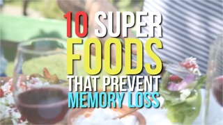 10 Super foods that prevent memory loss - Video