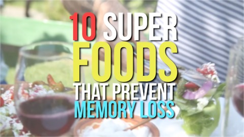 10 Super foods that prevent memory loss