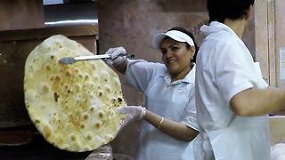 Fascinating traditional bakery holds delicious secret - Video