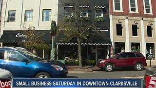 Many Shop On Small Business Saturday - Video