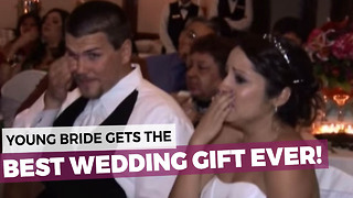 Her Dad Didn't Want To Give A Speech So He Decided To Do Something Very Special Instead! - Video