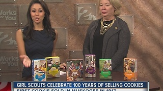 Girl Scouts celebrate 100 years of selling cookies - Video