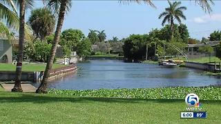 Man nearly drowns in West Palm Beach canal - Video