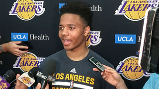Markelle Fultz Works Out with the Lakers, Is MORE Than Happy to Take Lonzo Ball's Spot - Video