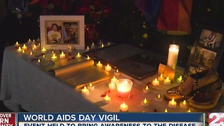 World AIDS Day vigil - Video