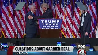 Trump, Pence head to Indiana - Video