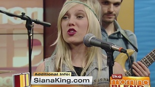 Country/Rock Artist Siana King 11/24/16 - Video