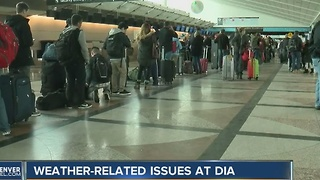Cancellations, problems continue at DIA - Video