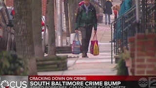 Crime bump in South Baltimore; leaders ask for more than added patrol