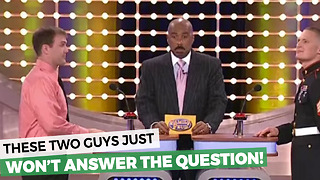 Game Show Contestants Refuse To Answer THIS Random Question - Video