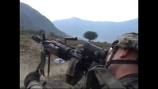 COMBAT FOOTAGE! - Firefight in Waterpur Valley, Afghanistan