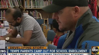 Valley parents pushing to get kids in top Valley school - Video