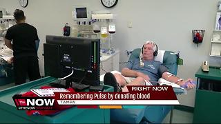 Remembering Pulse by donating blood - Video