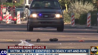 Police ID man involved in deadly hit and run crash in Phoenix - Video