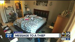 Woman desperate to find hard drive after home is burglarized - Video