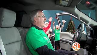 Wow! James won a brand-new F-150 from Operation Santa Claus - Video