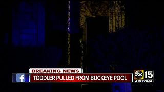 Infant in Buckeye pulled from pool - Video