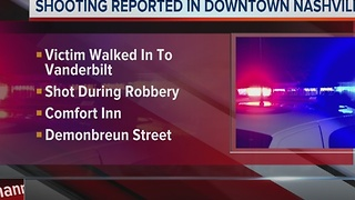 Shooting During Robbery Leaves 1 Injured
