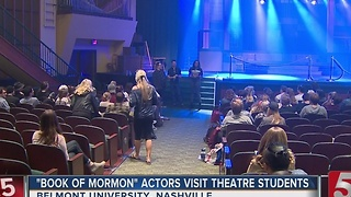 Broadway Actors Visit Belmont University - Video